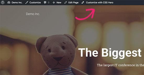 CSS Hero button
