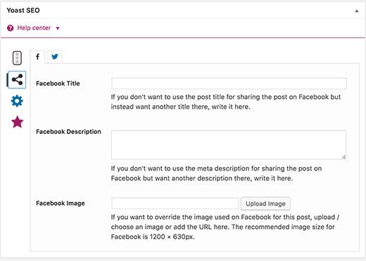 Setting Facebook thumbnail in WordPress using Yoast SEO