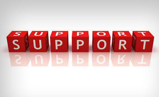 خيارات الدعم