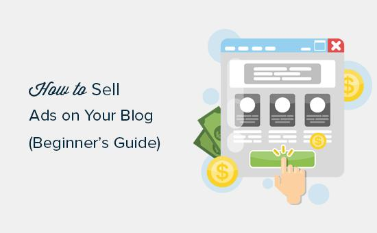 Selling ads on your WordPress blog