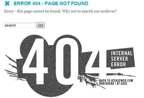 Ateaseweb 404 Page