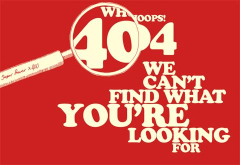 Carsonified 404 Page