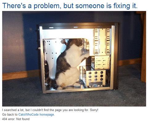 Catswhocode 404 Page