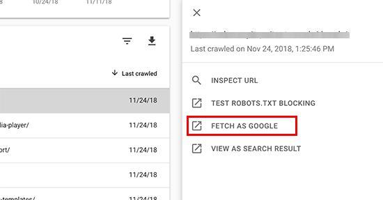 在新的Search Console信息中心中获取Google