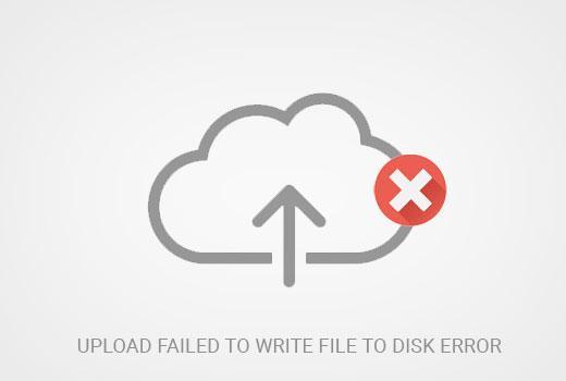 在WordPress中上传失败的错误