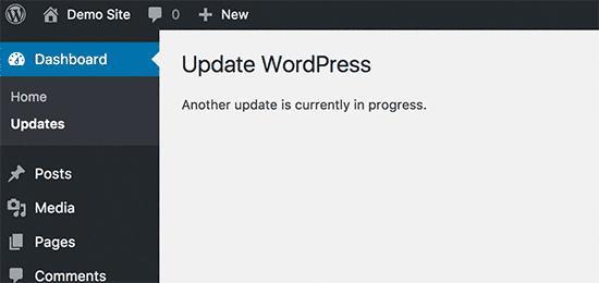 进程错误的另一个更新