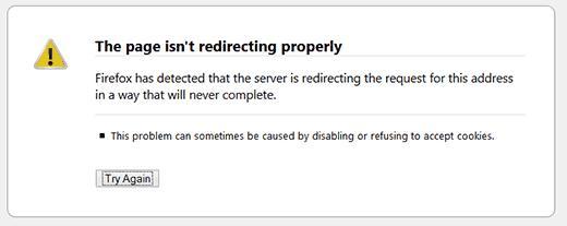 WordPress中的重定向错误太多