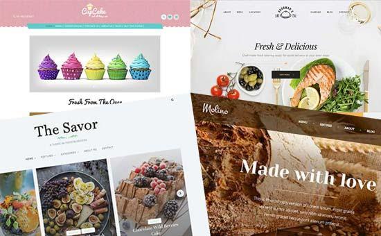 选择食物和食谱博客的主题