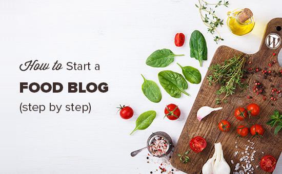 开始一个美食博客,并从你的食谱赚钱