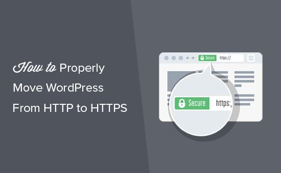 Moving WordPress from HTTP to HTTPS / SSL
