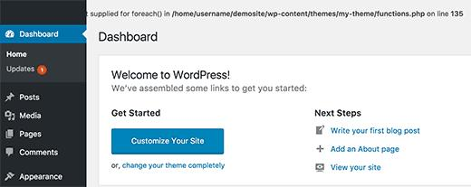 WordPress中的Pluggable.php文件错误