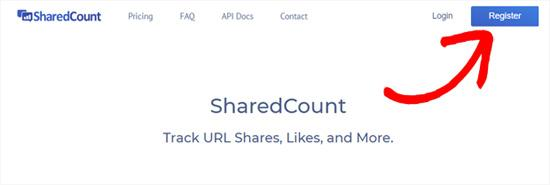 Shared Counts API field