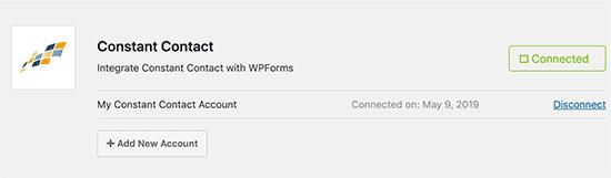 WPForms integrations