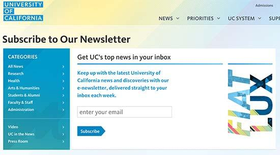 Human Rights Watch newsletter signup form