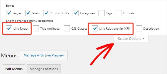 Add Custom Link to Navigation menu in WordPress
