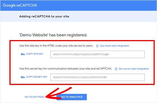 Accept Google reCAPTCHA Terms of Service