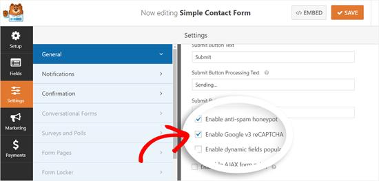 Edit a Form Created with WPForms